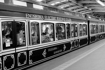 Kamakura Bahnhof Japan von Inge Hogenbijl