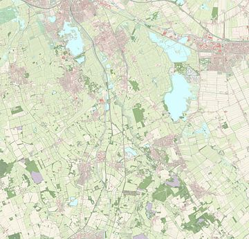 Kaart vanTynaarlo