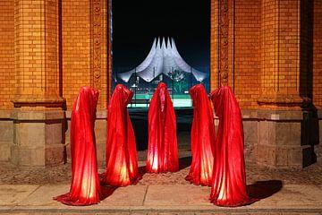 Cinq sculptures à Berlin sur Frank Herrmann
