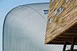 Strakke lijnen in Almere van