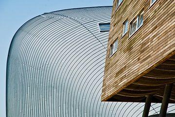 Strakke lijnen in Almere van Tammo Strijker