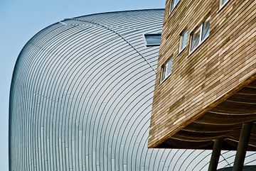 Strakke lijnen in Almere sur Tammo Strijker