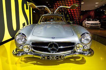 Mercedes Benz 300SL Coupé Gullwing avant sur Dennis van de Water