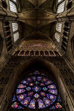 Kathedrale von Reims, Frankreich von Michael van der Tas