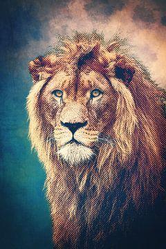 Young Lion van Angela Dölling