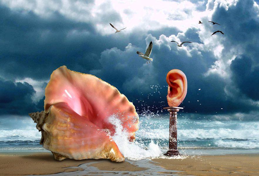 Hoor het ruisen van de zee