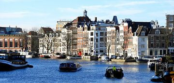 Amsterdamse grachten von Laura Balvers