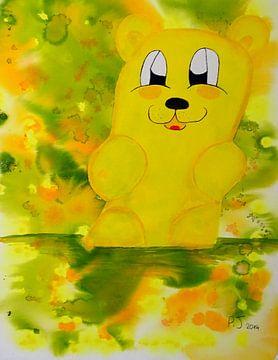 gelber Gummibärenbruder van