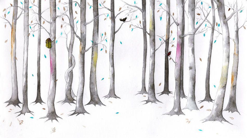 Timeless forrest, een tijdloos bos 2