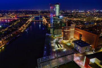 Skyline van Rotterdam sur Roy Poots