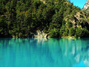 Blauw Water van Daphne Photography