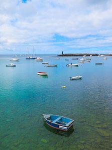 Haven van Arrecife, Lanzarote.