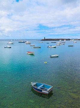 Haven van Arrecife, Lanzarote. sur Hennnie Keeris
