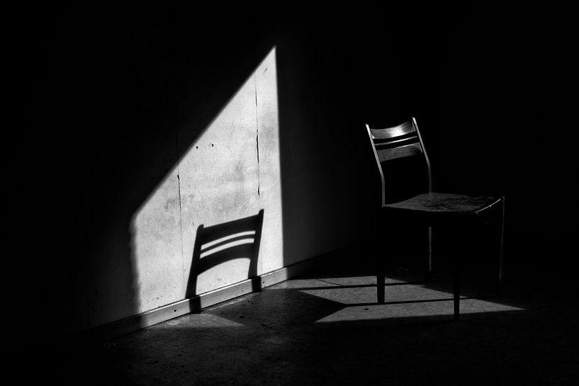 De verlaten stoel van Eus Driessen