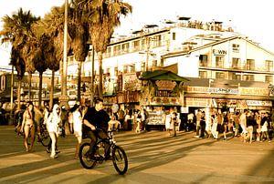 Venice Beach 2 sepia, California