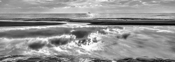 Panoramic Reflections - B&W