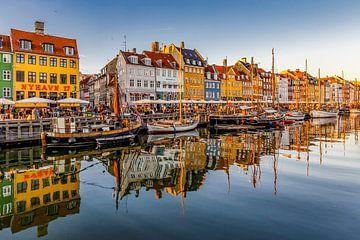 Nyhavn in Kopenhagen von Easycopters