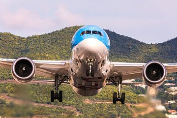 TUI 787-8 op weg terug naar Nederland van