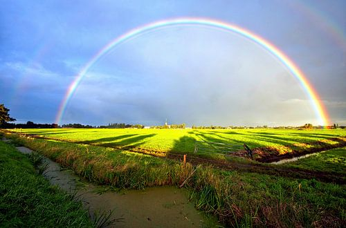 Regenboog von Johan Wouters