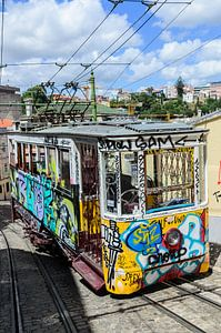 Tram 2 Lissabon Portugal