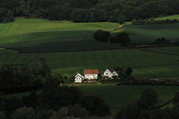 Vakwerkhuizen bij Epen von Leo Hermans
