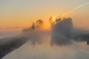 Misty Sunrise in the Polder van Rossum-Fotografie