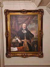 Photo de nos clients: Porträtmalerei: Michiel de Ruyter als Leutnant Admiral, Ferdinand Bol, 1667, sur toile