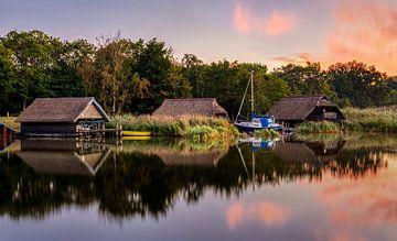 Sonnenaufgang in Prerow, Darss, Deutschland von Adelheid Smitt