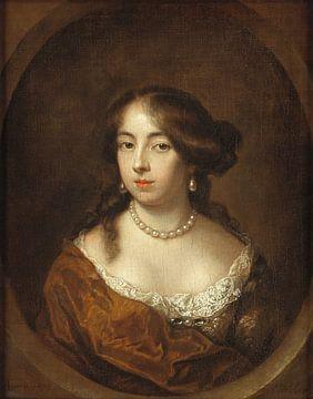 Portrait de Cecilia de jonge van Ellemeet, Caspar Netscher sur