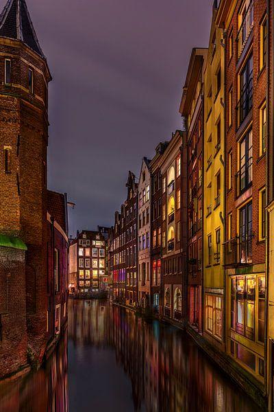 Spooksteeg Amsterdam van Michael van der Burg