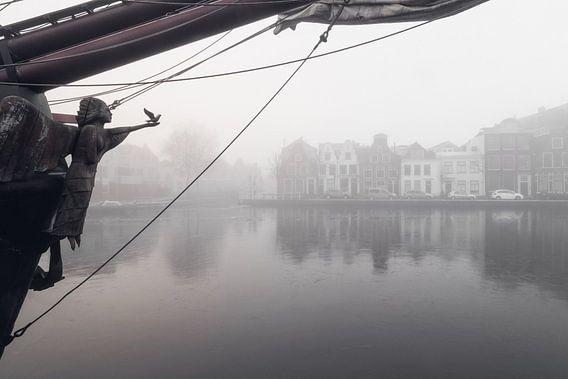 Haarlem: boegbeeld Soeverein.