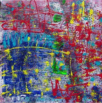 Abstrakte Kunst- Crazy Artist