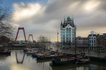 Oude haven Rotterdam van Edwin van Alfen