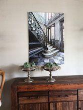 Klantfoto: De piano hal van William Linders, op canvas