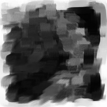 Abstrakte Pinselstriche VIII von Maurice Dawson