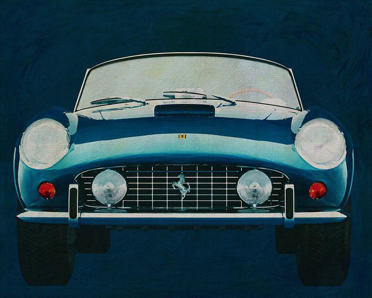 Ferrari 250GT Spyder California 1960 Vorderseite von Jan Keteleer