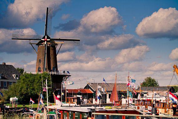 De molen van Wijk van Colin van der Bel