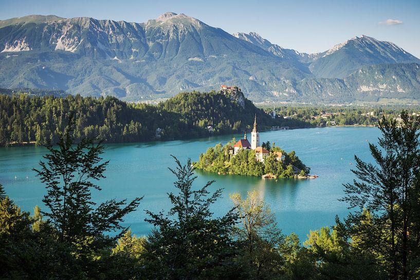 Lake Bled (Slovenia) van Alexander Voss