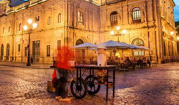 Sevilla pleintje sur Harrie Muis