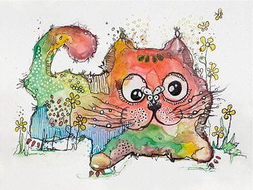 KITTY EN DE VLIEG van Vera Weber