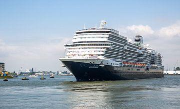 Le Ms Koningsdam à Rotterdam sur MS Fotografie | Marc van der Stelt