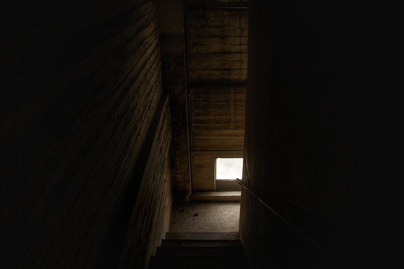 Een enge verlaten trap von Melvin Meijer