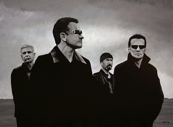 U2 Schilderij van Paul Meijering