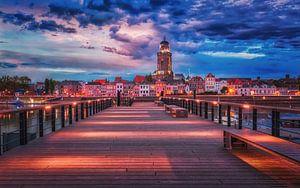 Het Laatste licht Deventer von Erik de Boer