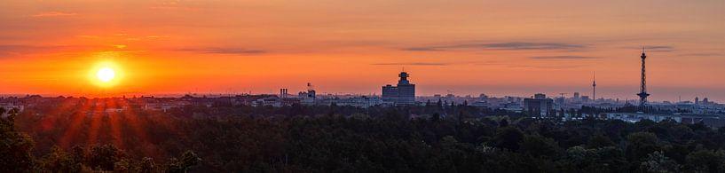 Lever du soleil à Berlin sur Frank Herrmann