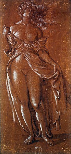 Hans Baldung Grien.Lucretia von 1000 Schilderijen