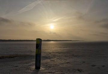 Strand in Sankt Peter Ording von Angelika Stern