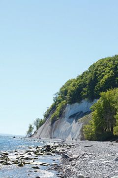 Kreideküste, Strand , Nationalpark Jasmund, Sassnitz, Insel R�gen, Mecklenburg-Vorpommern, Deutschla von Torsten Krüger