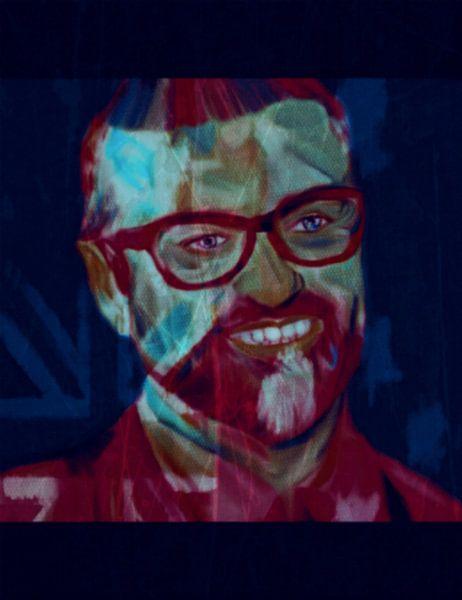 George Michael Daily Painting 08.01.2017 van Felix von Altersheim