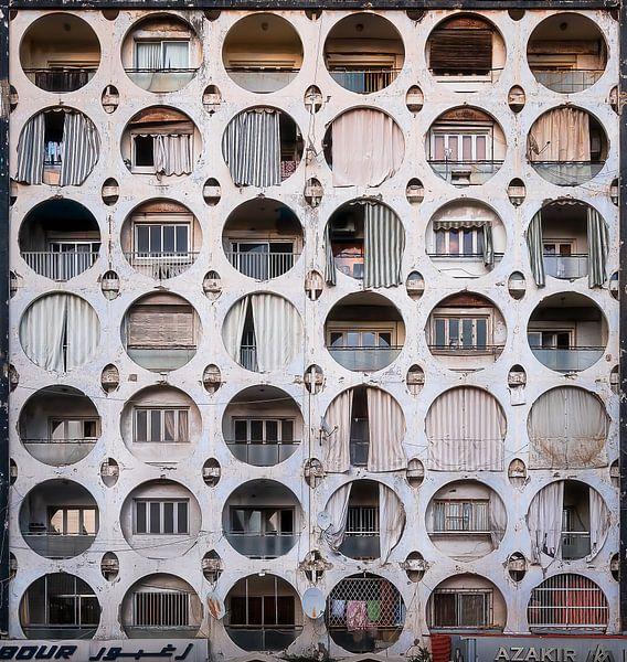 Het Koujak-Jaber Gebouw. van Roman Robroek